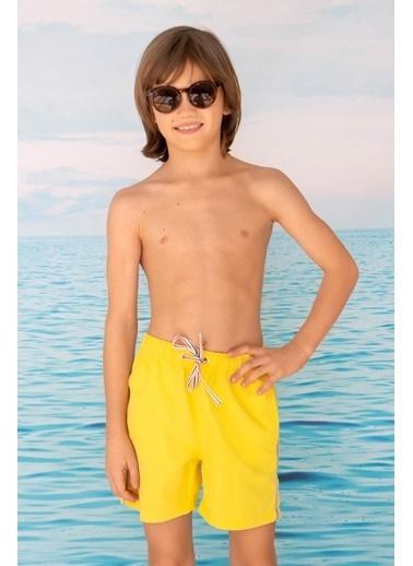 Katia & Bony Basıc Erkek Çocuk şort Mayo - Sarı Sarı